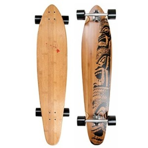 Longboard Bambus