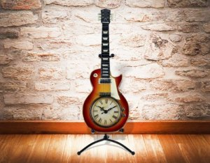 Guitarren Uhr
