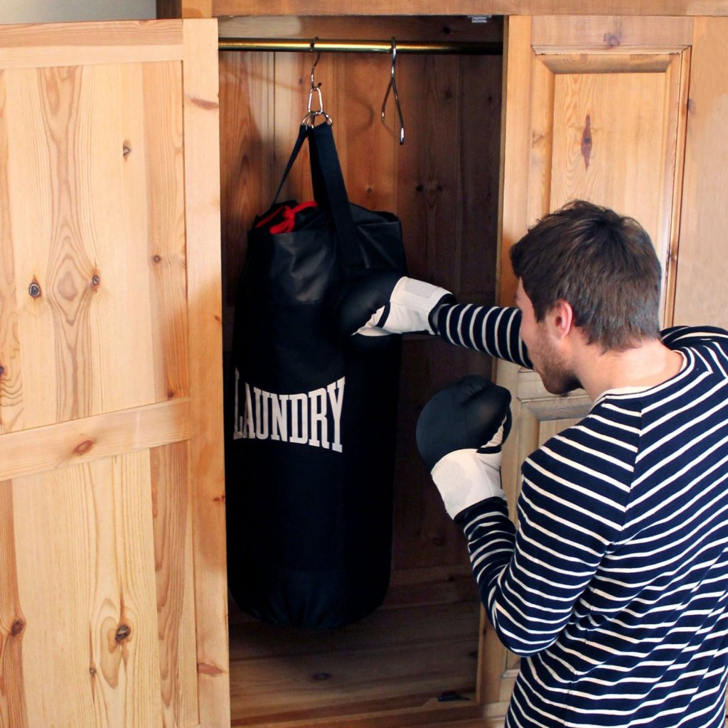 Boxsack und Wäschesack
