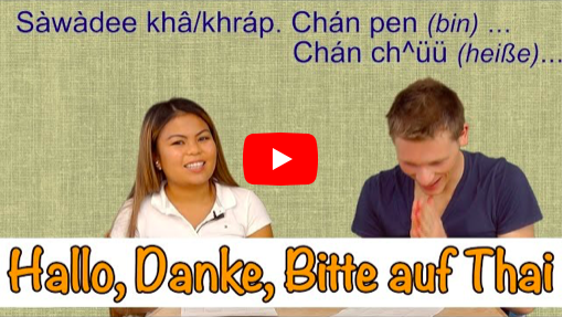 Thailändisch lernen