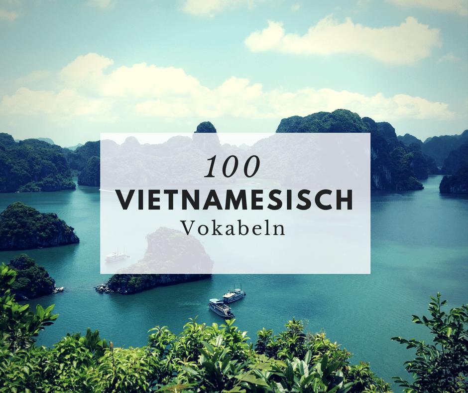 Vietnamesisch Vokabeln