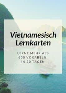 Vietnamesisch Lernkarten