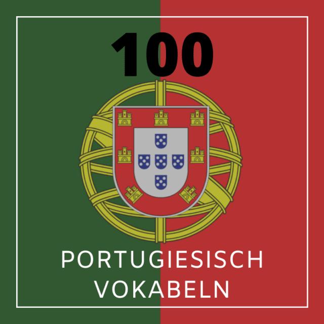 Portugiesisch Grundwortschatz