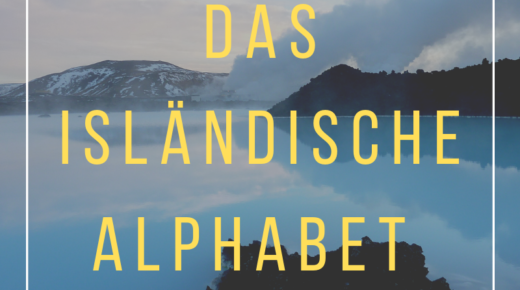 Isländisches alphabet