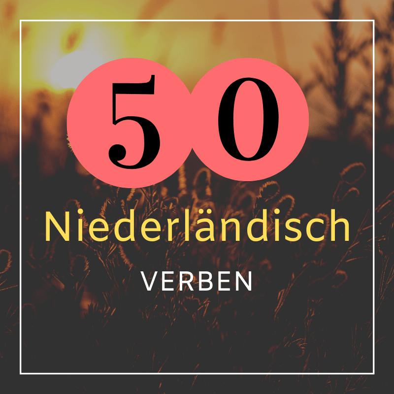 50 Niederländisch Verben, die deinen Grundwortschatz erweitern