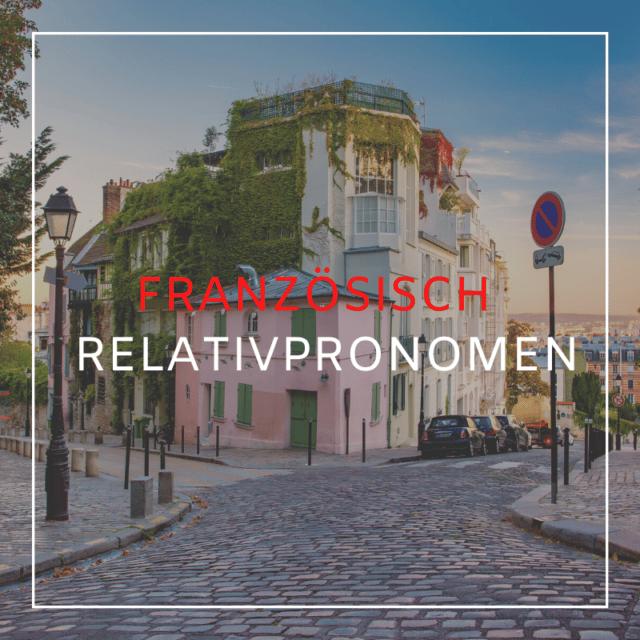 Französisch Pronomen