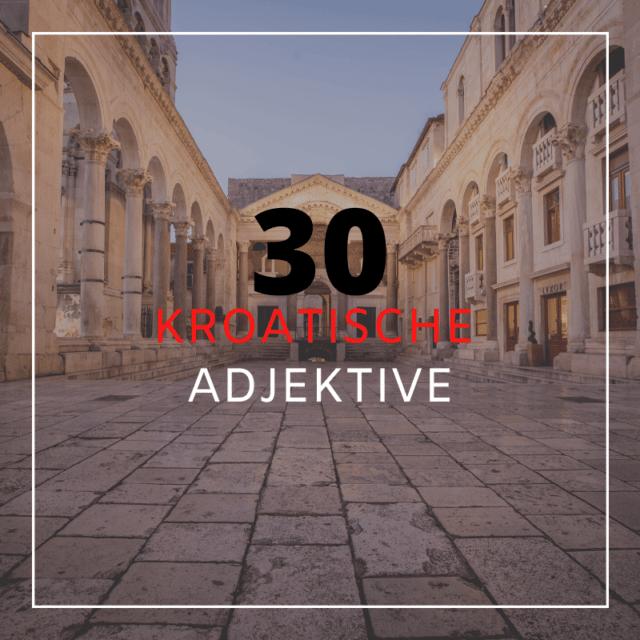 Kroatisch Vokabeln