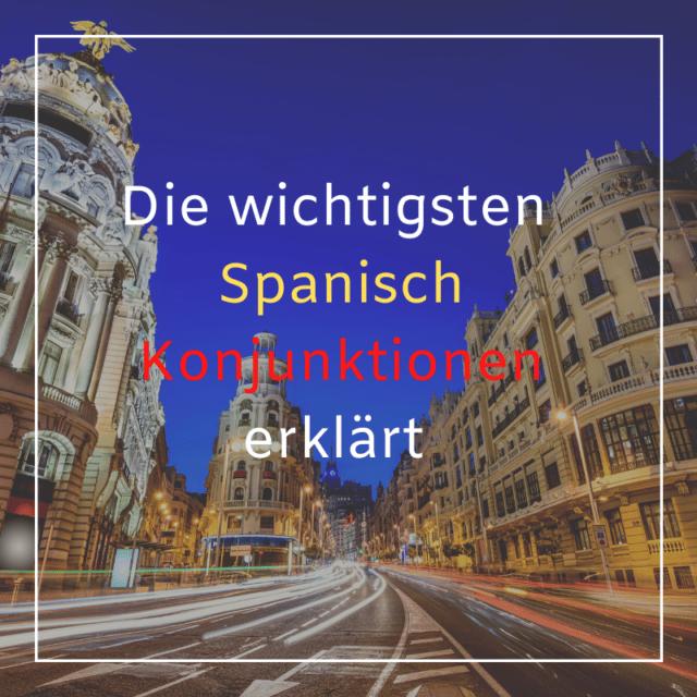 Spanisch Konnektoren